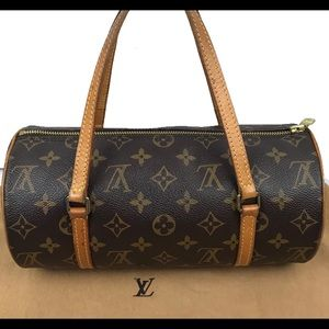 Louis Vuitton Monogram Papillon 26 Bag